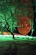 Piętnastometrowy radioteleskop astronomiczny na terenie Obserwatorium Astronomicznego UJ. Niestety, programów z satelity nie odbiera ;)