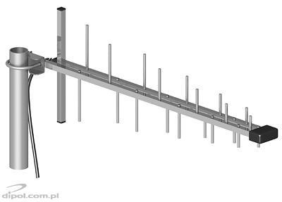 Antenna ATK-LOG GSM/DCS/UMTS/HSDPA + 5m kábel SMA dugasszal