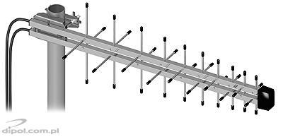 Antena ATK- 5/400-470MHz