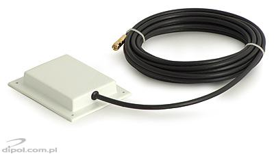 WLAN Wi-Fi Panel Antenna: BOX-8 (2.4GHz, 8 dB, 5m cable &SMA R/P plug)