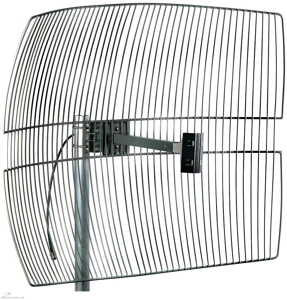 Wlan wifi directional antenna grid24024 2 4ghz 24db for Antenne wifi sectorielle exterieur