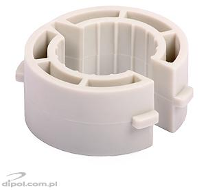 The kit includes the adapter for mounting an LNB with 25 mm neck diameter