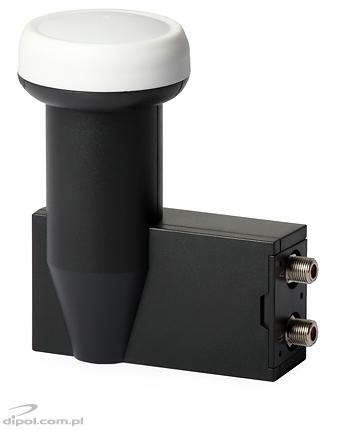 View of the LNB. Neck diameter: 40 mm