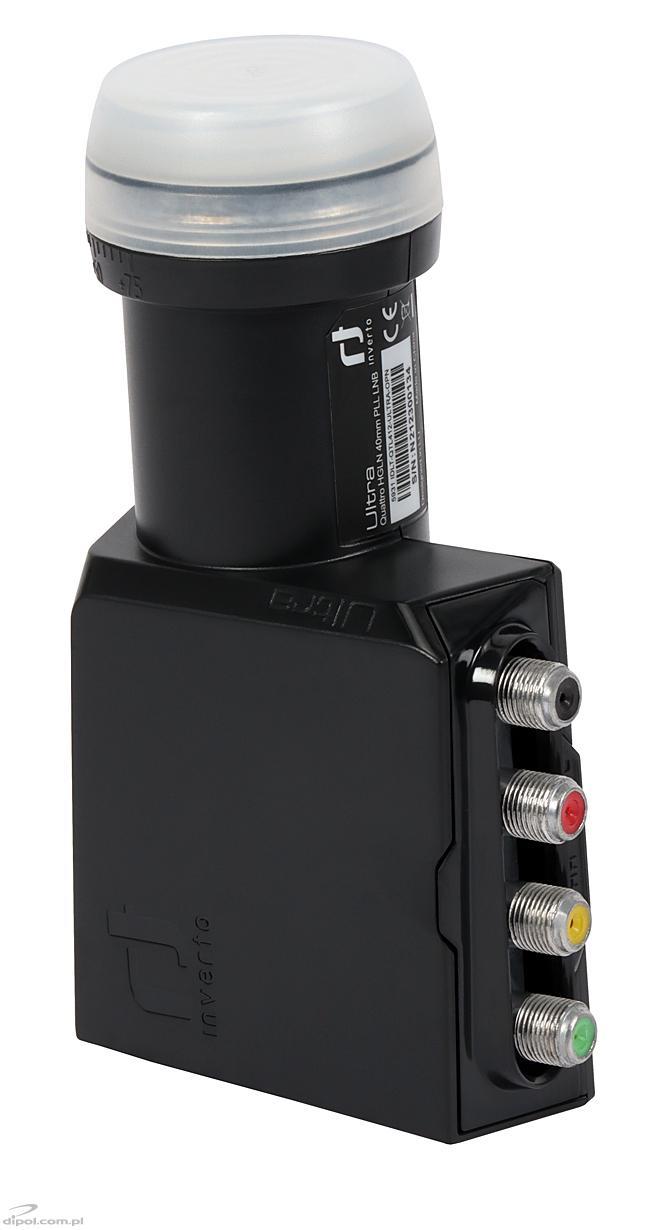 Quatro Lnb Inverto Black Ultra 0 2db Quatro Lnbs Tv Sat