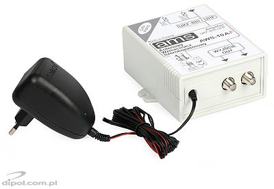Indoor Antenna Amplifier: AWS-10A (with power 