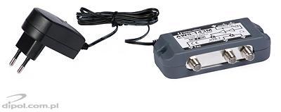 Wzmacniacz antenowy wewnętrzny z zasilaczem AWS-143ST