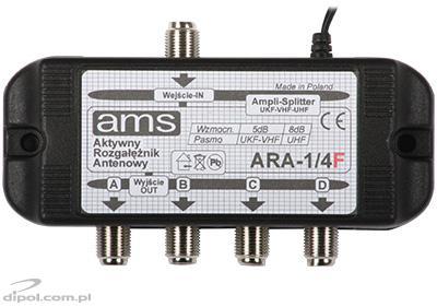 ARA 1/4 F Active Antenna Splitter