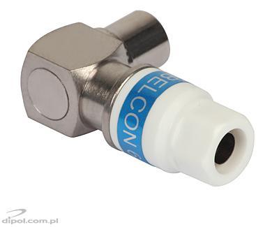 Antenna Plug (IEC): Cabelcon (angular, RG-6/Triset-113,
