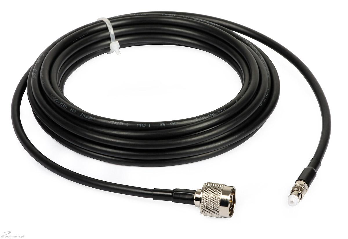 N-male to FME-female Cable (5m, RF-5) - WLAN Accessories - LAN & WLAN