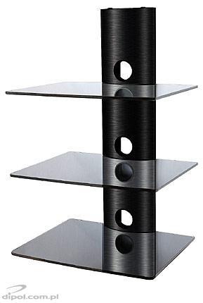 Półka DVD/tuner DS-103CB (3 poziomy)