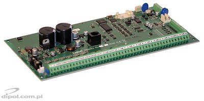 View of the Satel Integra 64 Plus control panel (main board)
