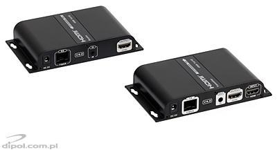 Signal-HD HDMI - Optikai konverter (RC extenderrel)