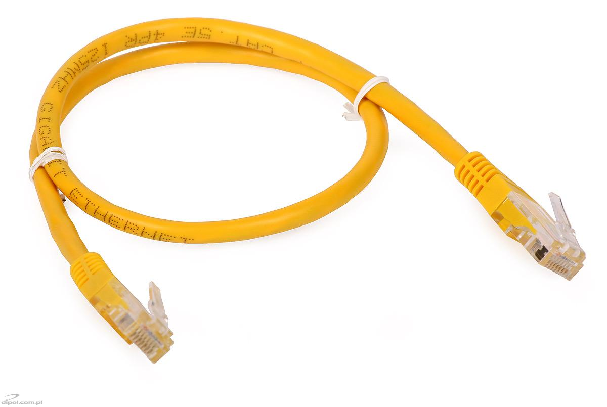 Wiring Diagram For Cat5 Cable Price : Utp patch cable cat e m yellow