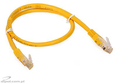 UTP Patch Cable Cat5e (0.5m, yellow)