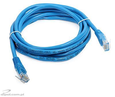 UTP Patch Cable Cat5e (2m, blue)