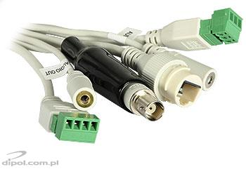 View of the connectors