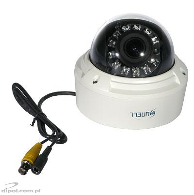 Vandal-proof Dome Camera: SN-FXP59/30UIR (650 TVL, Sony Effio-E, D-WDR, 0.03 lx, 2.8-10mm, IR up to 20m)