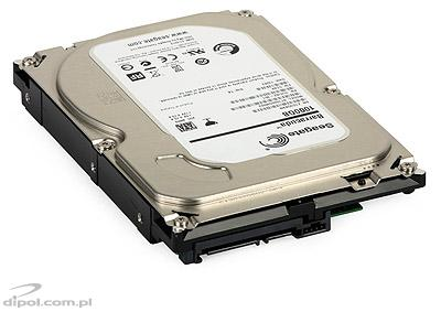 View of the hard drive