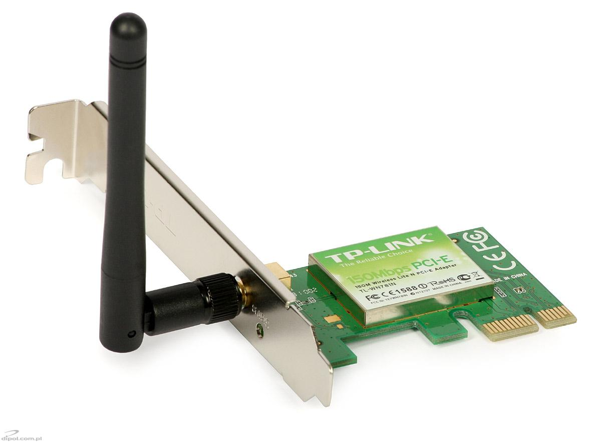wireless pci adapter tp link tl wn781n 150mb s. Black Bedroom Furniture Sets. Home Design Ideas