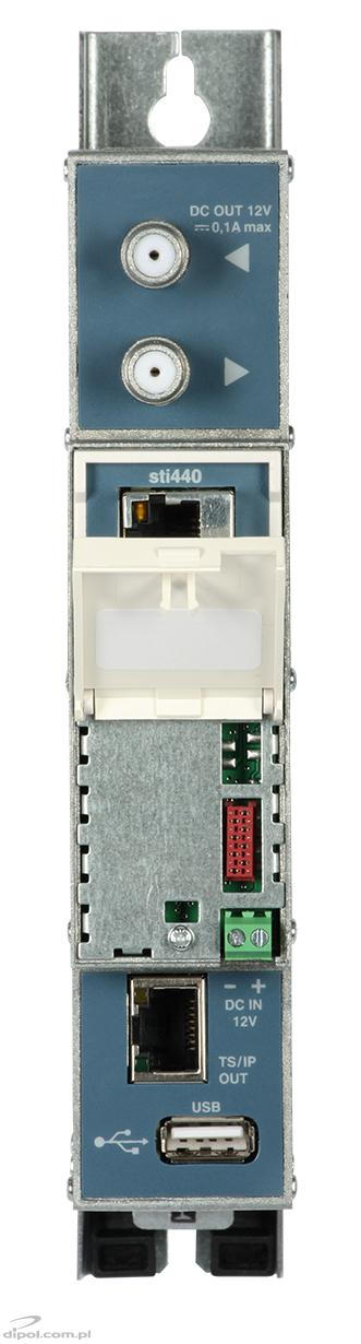 iptv streamer terra sti 440 dvb t t2 c to ip usb port. Black Bedroom Furniture Sets. Home Design Ideas