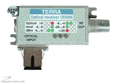 Top view of the OD-006 receiver