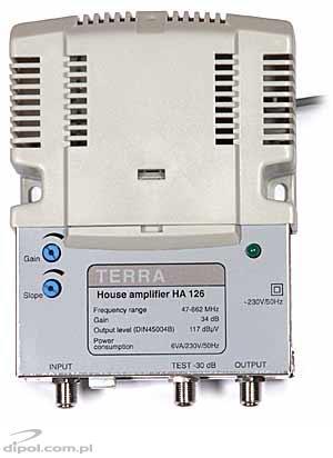 Building Amplifier:Terra HA-126