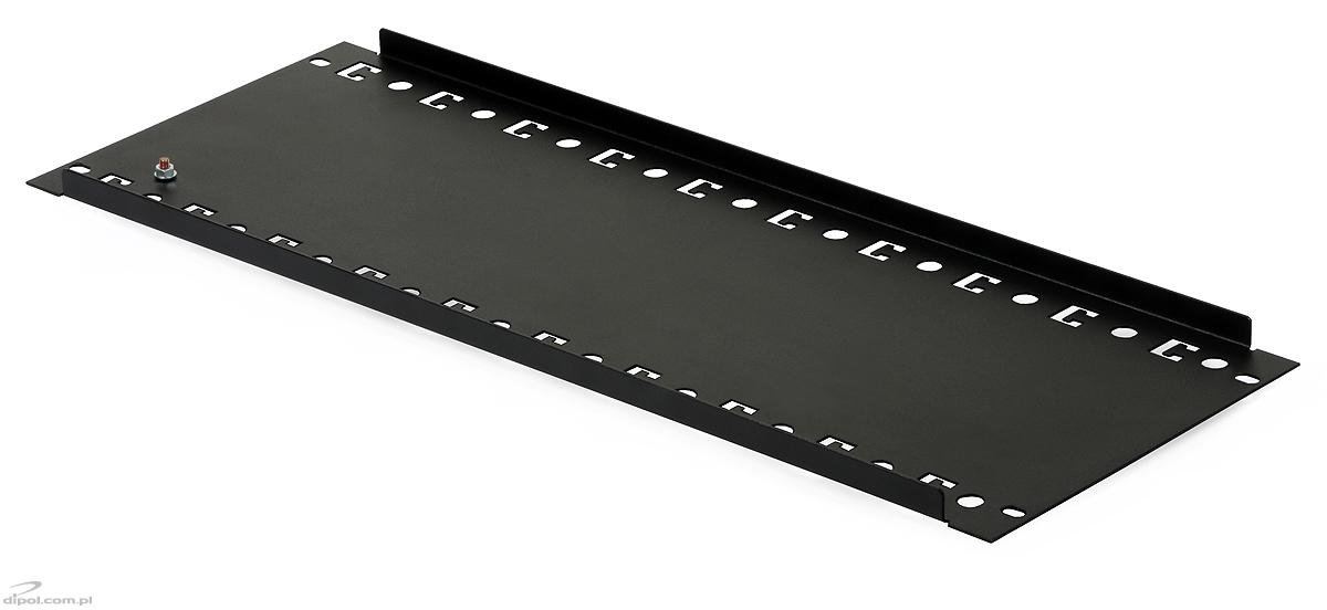 Mounting plate for 19 rack cabinets 4u with din th35 for Cabinet mounting plate