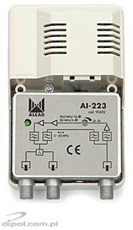 Broadband Amplifier with Return Channel: Alcad AI-223