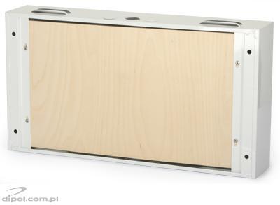Szerelvényház fém TPR-6 540x420x180mm